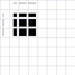 correlation image for base64.ppm