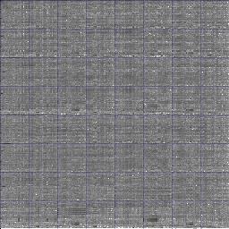 correlation image for jpeg.ppm