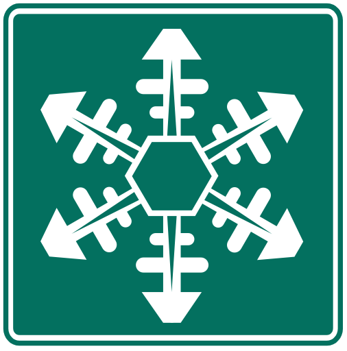 Traffic Signs Us >> US Road Signs: Snowflake (info)